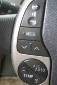 Prius Steering Wheel Controls
